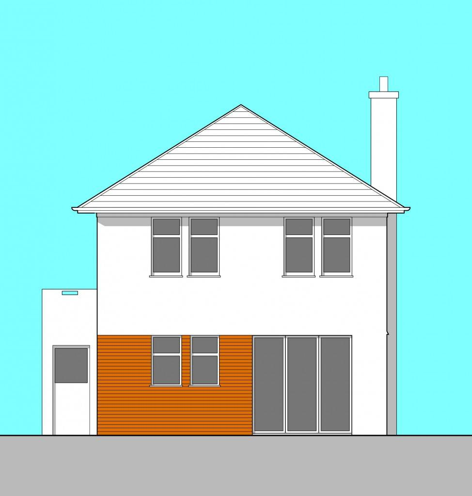 Newton Mearns glasgow architects elevation