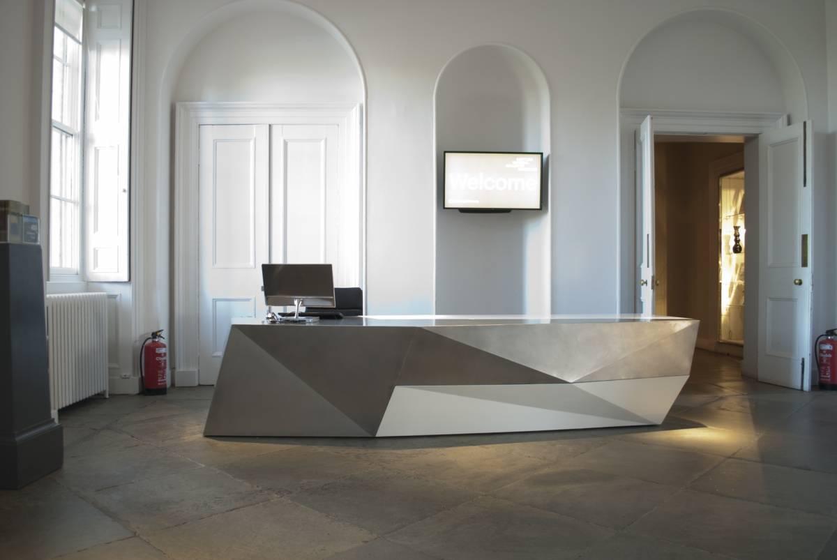 Reception foyer and desk, scottish national gallery of modern art ...