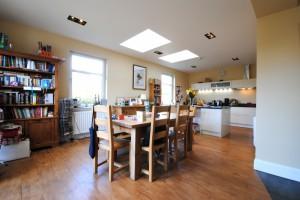 Architects Glasgow- open plan kitchen