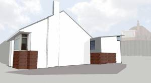Milngavie Architects side view 01