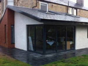 , House Extension Design in Cambuslang by Glasgow Architects, Allison Architecture.