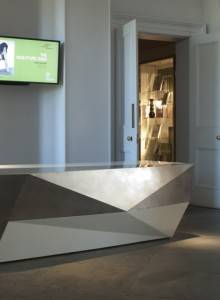 Allison Architects Glasgow reception desk design