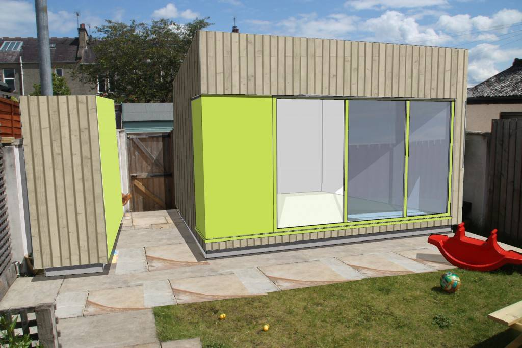 Glasgow Architects, Glasgow Architects – Jordanhill Garden Office