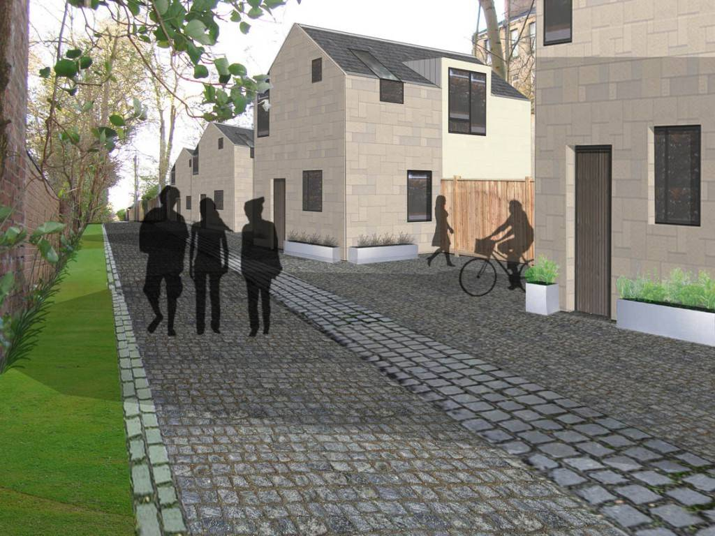 , Mews Properties Development in Glasgow's West End