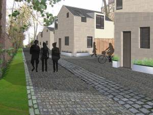 Allison Architects Glasgow west end mews design