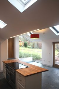 Allison Architects internal view of Cambuslang Extension
