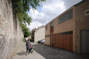 Allison Architects Glasgow Mews External View