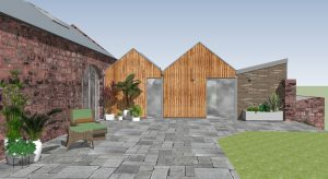 Allison Architects Glasgow Barn Conversion External View