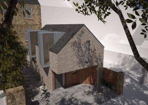 Glasgow Architects, Glasgow West End Mews House Design