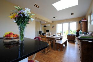 Hamilton Extension open plan kitchen