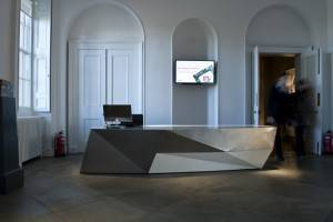 Architects Glasgow - Reception Desk Design 06