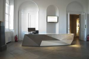 Architects Glasgow - Reception Desk Design 01