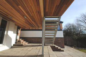 Raised Terrace Design by Allison Architects Glasgow