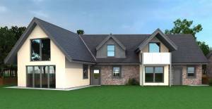Glasgow Architects, New Build House Designs, Perthshire