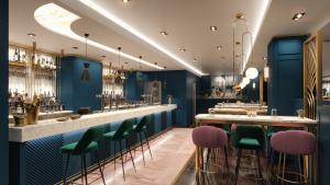 bar restaurant design glasgow image 2